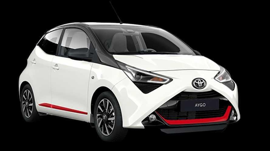 Toyota AYGO x-sport 2021: imagen deportiva