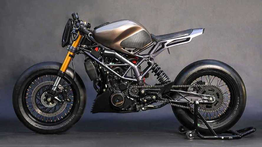 This Retro-Styled Custom KTM 390 Duke Is Ready To Race