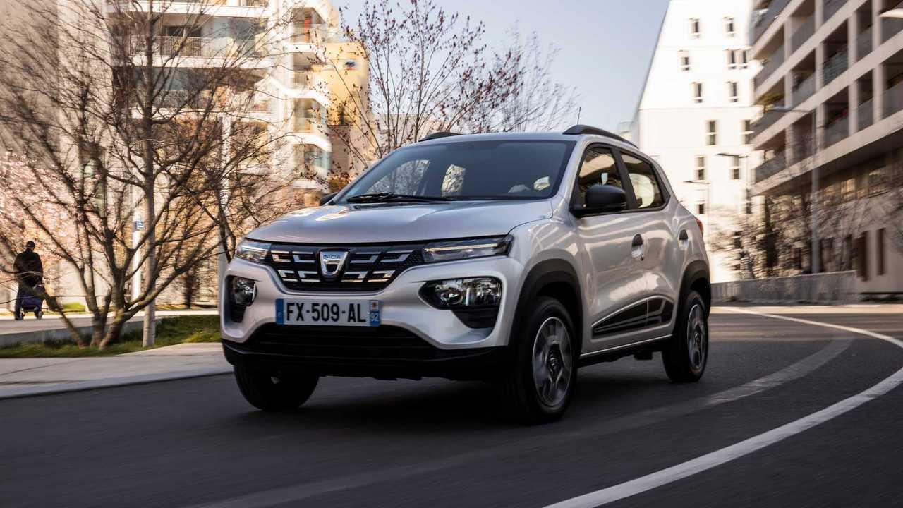 Günstiger Dacia Spring mit Elektroantrieb im Test