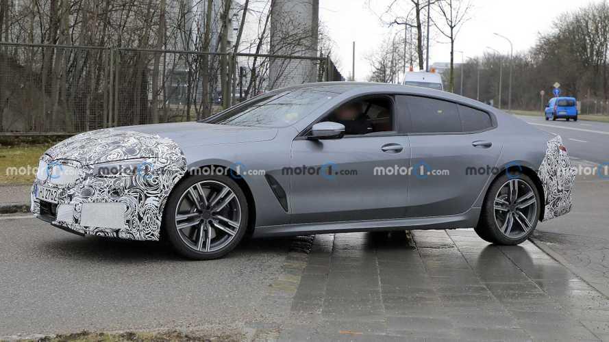 Makyajlı BMW 8 Serisi Gran Coupe prototpileri testte!