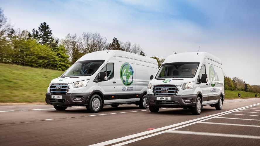 Ford E-Transit: Erste europäische Praxis-Tests ab Spätsommer 2021
