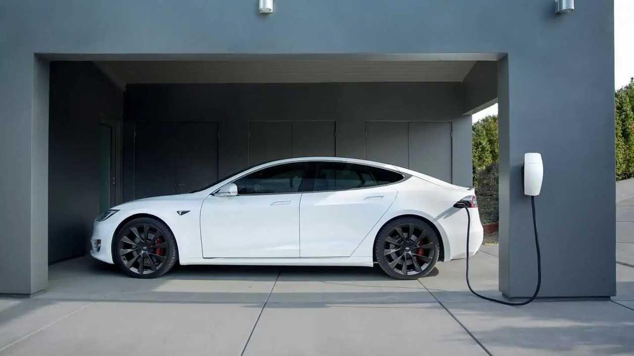 Tesla Model S home charging