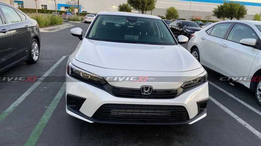 2021 Honda Civic Şehir İçi Görüntüler