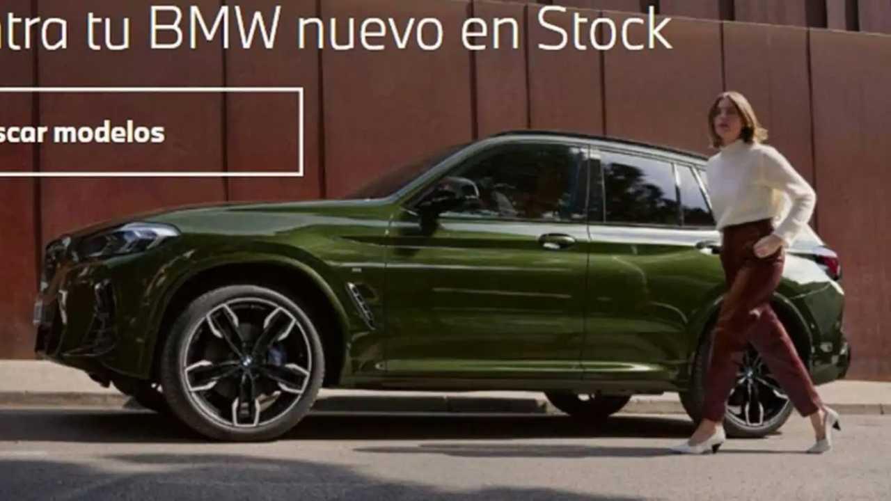 Makyajlı BMW X3'ün sızdırılan fotoğrafları.