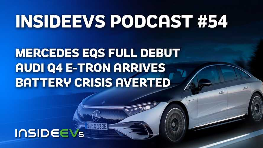 Mercedes EQS And Audi Q4 E-Tron Debut, Battery Crisis Averted