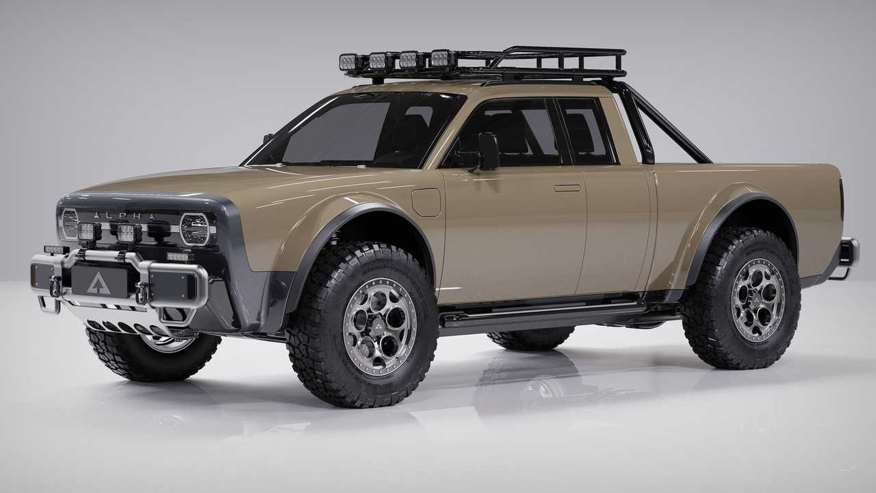 Alpha Motor Corporation Presents The Wolf+ Extended Cab In CGI