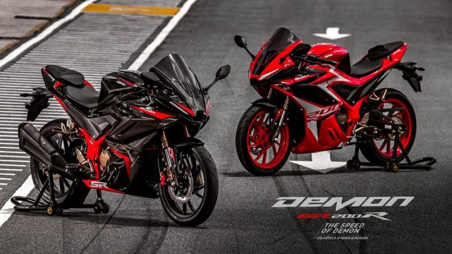 The GPX Demon GR200 Is An Angry Little Sportbike