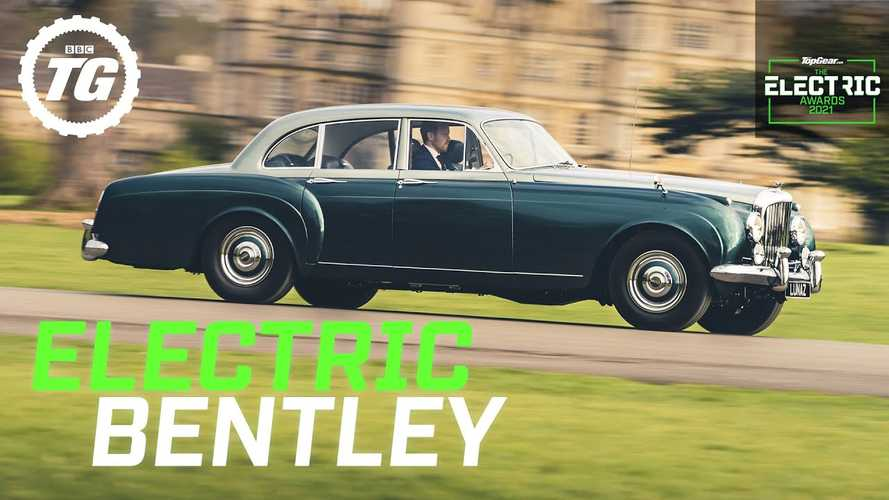 Stunning classic Bentley S1 EV conversion makes sense