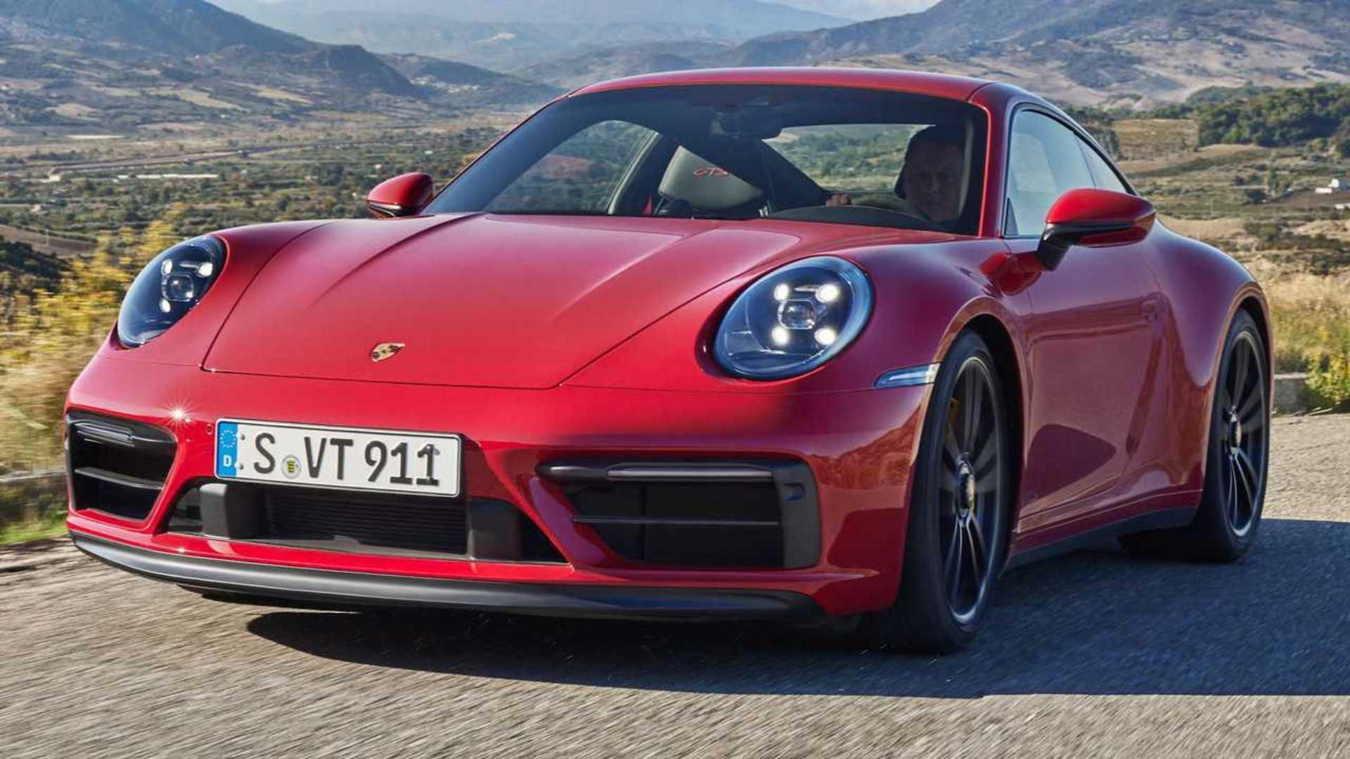 2022 Porsche 911 GTS Debuts, Packs More Power Than Carrera S