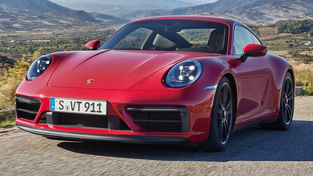 2022 Porsche 911 GTS model announced.