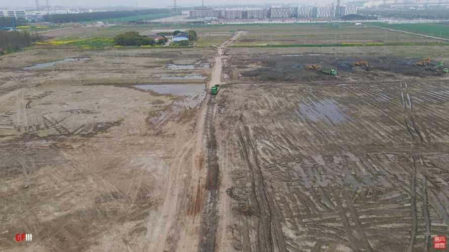 Large Expansion Efforts Begin At Tesla's Shanghai Gigafactory