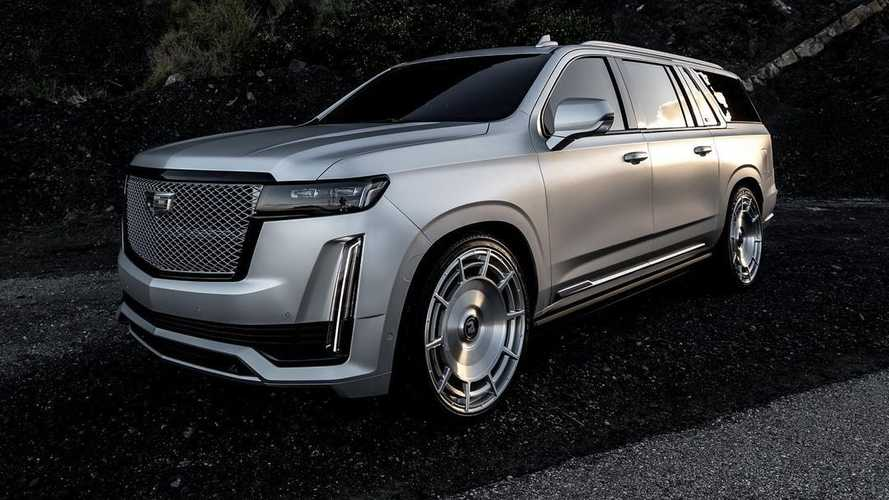 Kim Kardashian's Custom Cadillac Escalade Is Actually Amazing