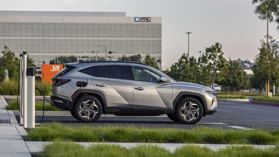 2022 Hyundai Tucson PHEV To Get 32 Miles Of EPA EV Range