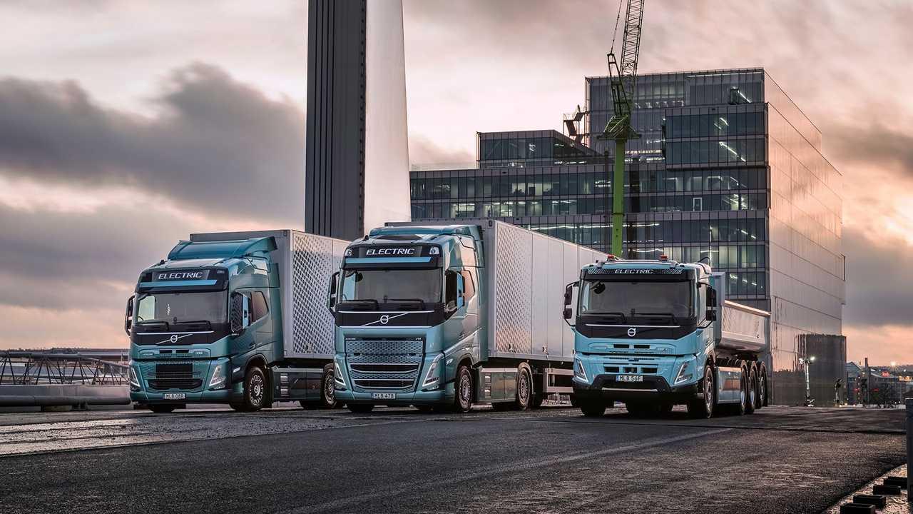 La gamma elettrificata di Volvo Trucks