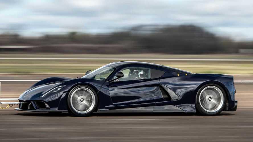 Hennessey Venom F5 Goes 200 MPH During Aerodynamic Validation Tests