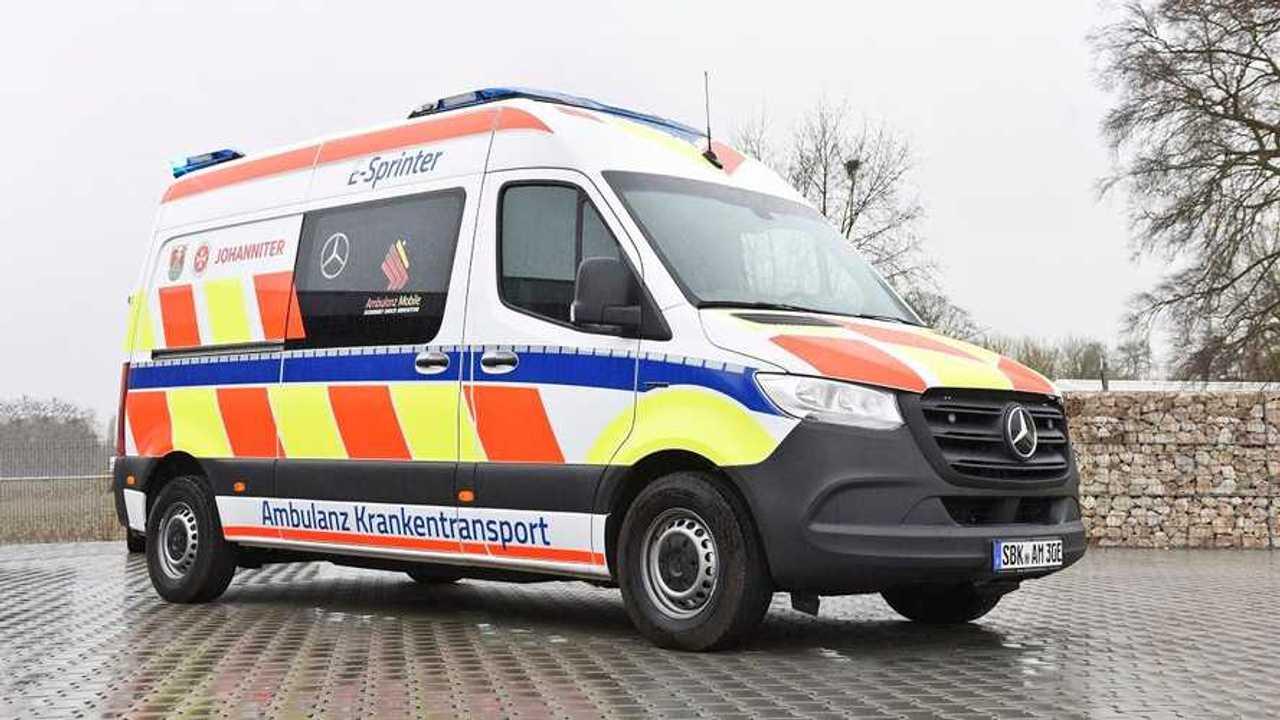 Mercedes eSprinter, ecco l'ambulanza 100% elettrica