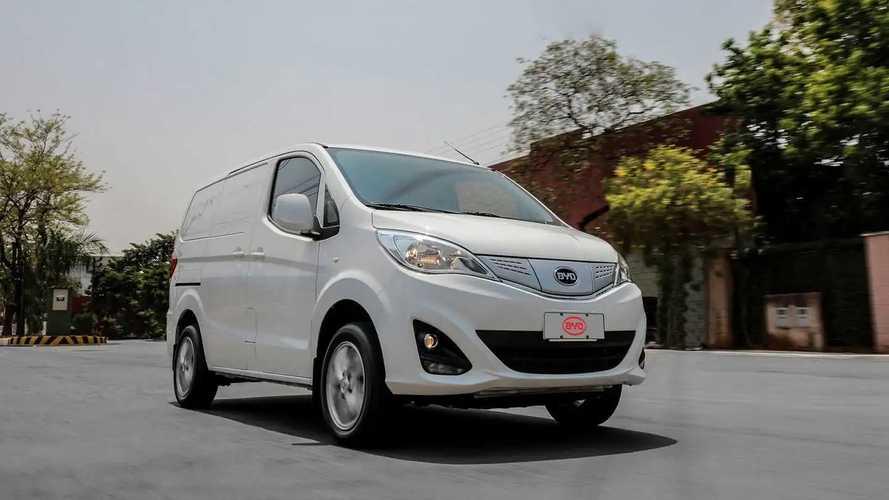 BYD eT3 foi o veículo elétrico mais vendido no Brasil em junho
