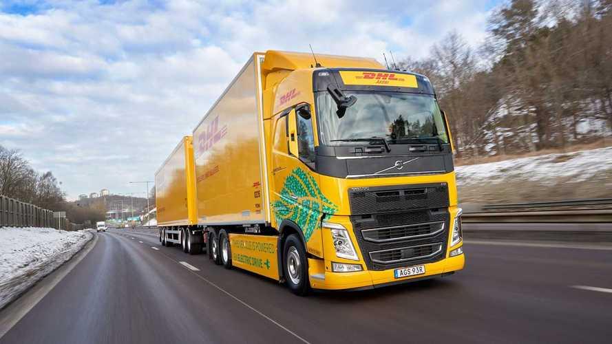 Volvo Trucks e DHL Freight per il trasporto elettrico a lungo raggio