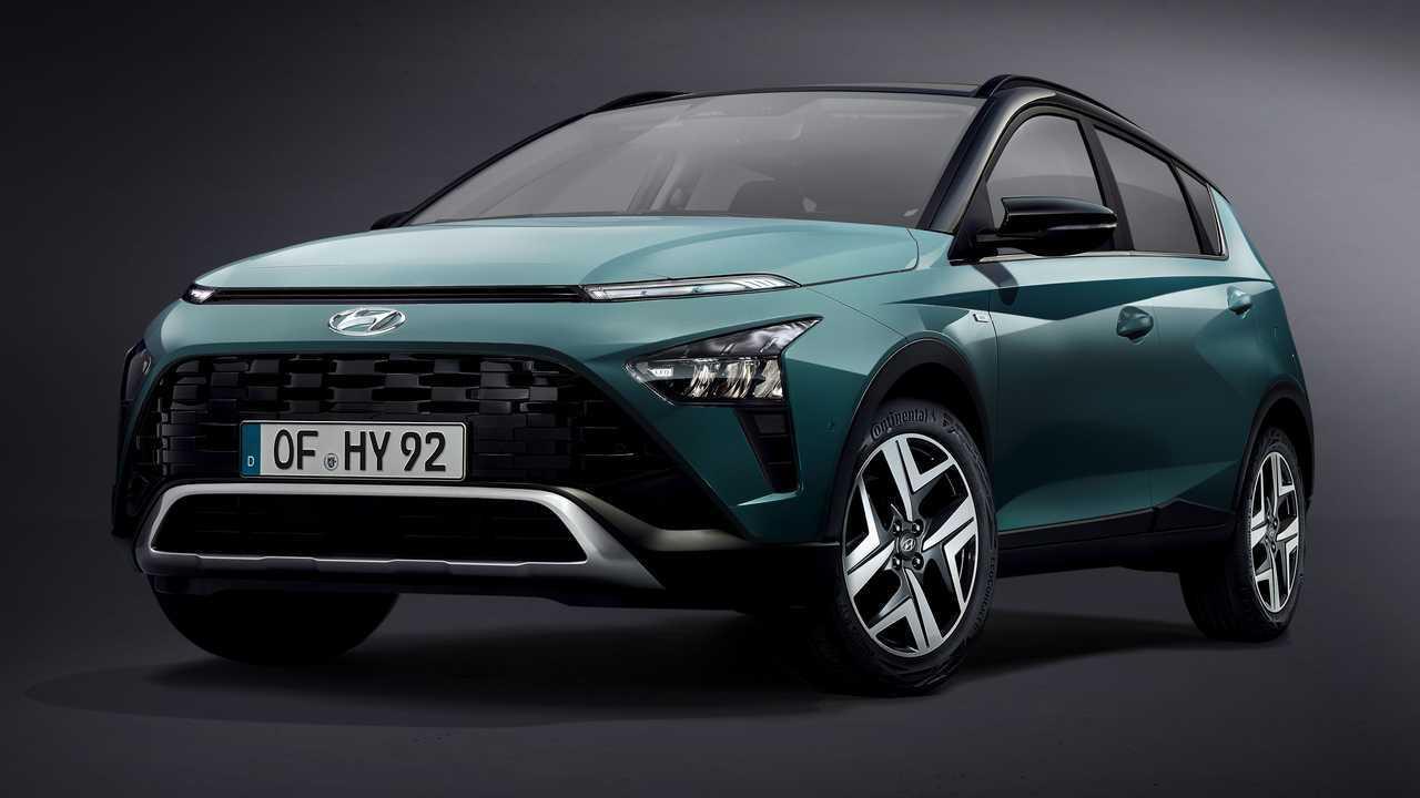 Hyundai Bayon, hivatalos fotók
