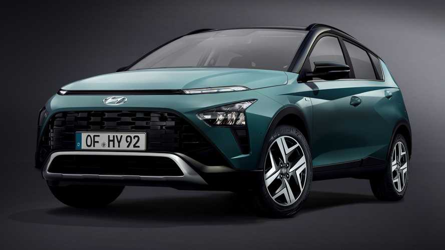 2021 Hyundai Bayon Revealed With Quirky Styling And Spacious Interior
