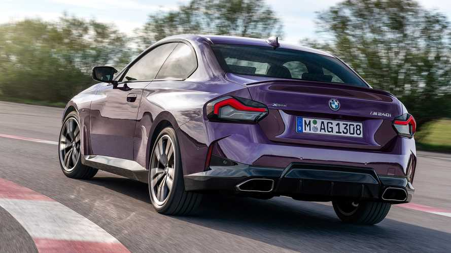 2022 BMW M240i With Rear-Wheel Drive Planned, But Without A Manual