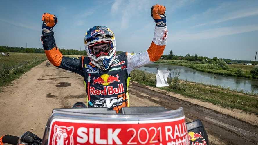 Red Bull KTM Rider Matthias Walkner Wins 2021 Silk Way Rally