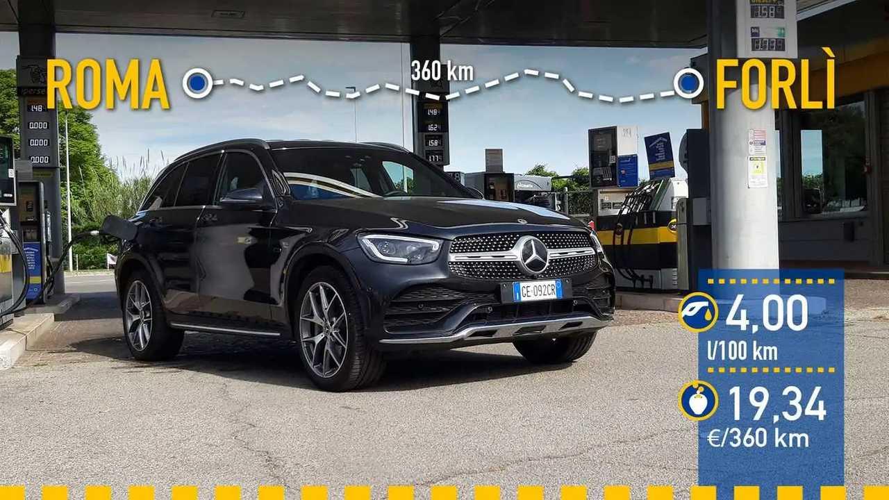 Prueba de consumo Mercedes-Benz GLC 300 de