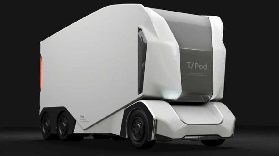 Arriva T/Pod il truck europeo elettrico e autonomo