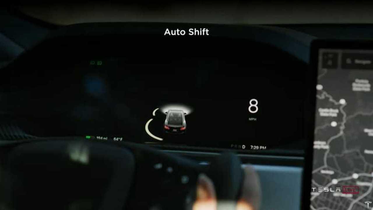 Tesla Model S Plaid Auto Shift