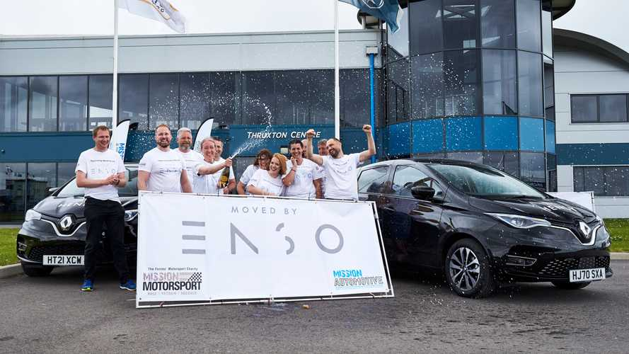 UK: Renault ZOE with Enso tyres sets new hypermiling record