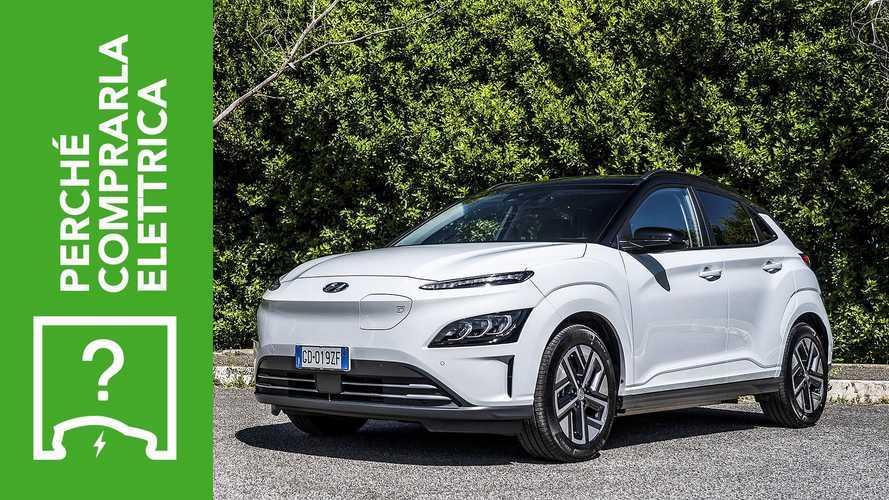 Hyundai Kona EV (2021), perché comprarla elettrica e perché no