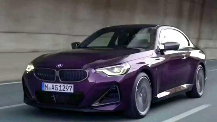 2022 BMW 2 Serisi Coupé (G42) sızdırıldı!