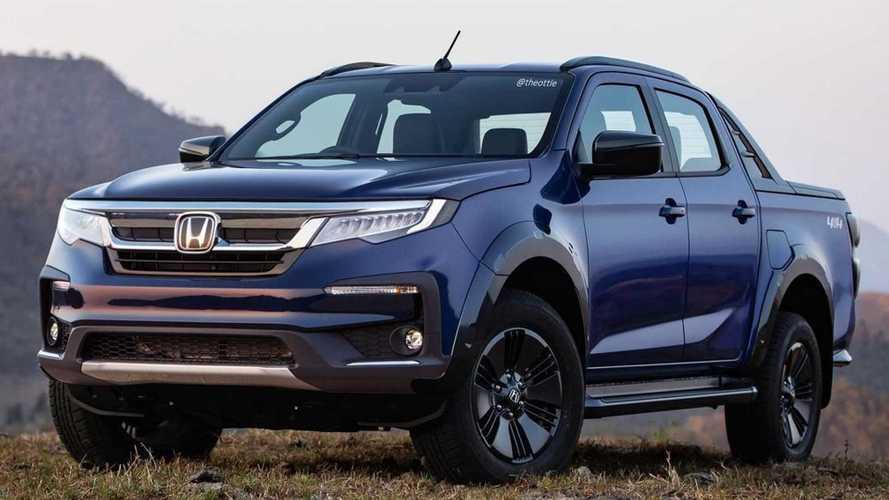 Projeção: Como seria uma picape Hilux da Honda?