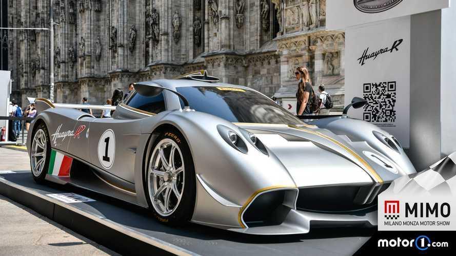 Pagani Huayra R, anteprima mondiale al Milano Monza 2021