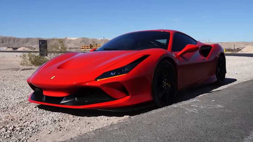 New Ferrari F8 Tributo Rental Ends Up With Cracked Frame After First Outing