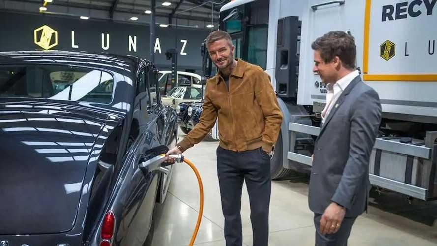 David Beckham entre au capital de Lunaz, spécialiste du rétrofit