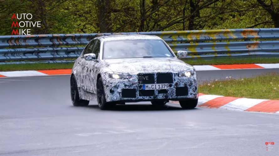 Vidéo - Une nouvelle version de la BMW M3 est en préparation