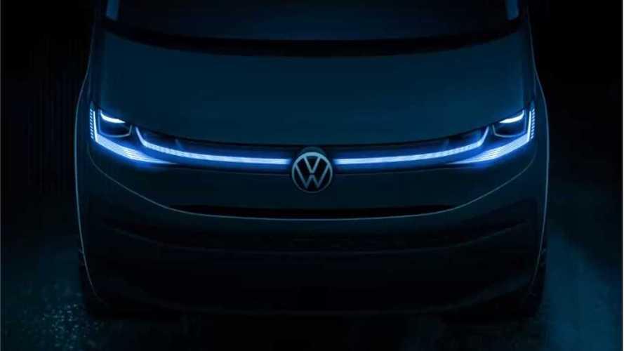 Volkswagen Multivan T7 сможет ехать на электричестве, но медленно