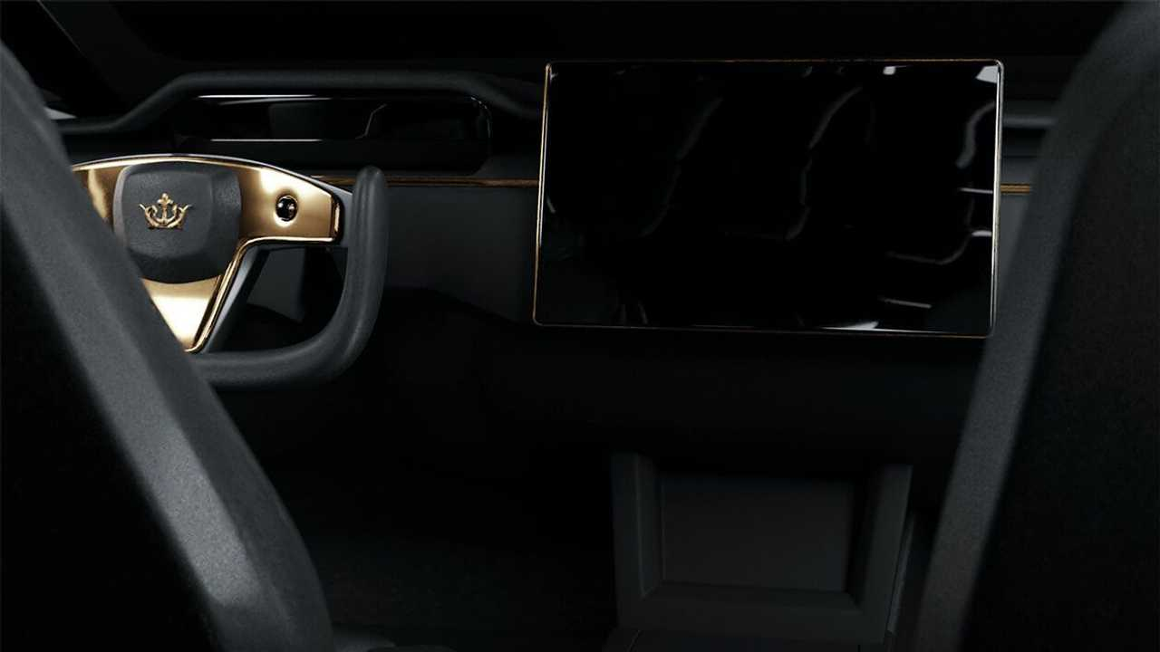 The Caviar Model Excellence 24K interior