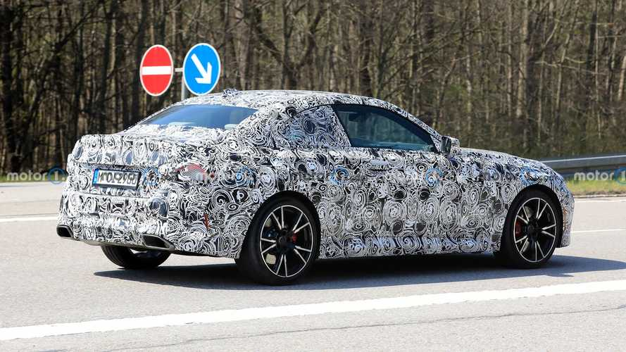 BMW 2 Series Coupe Spy Shots