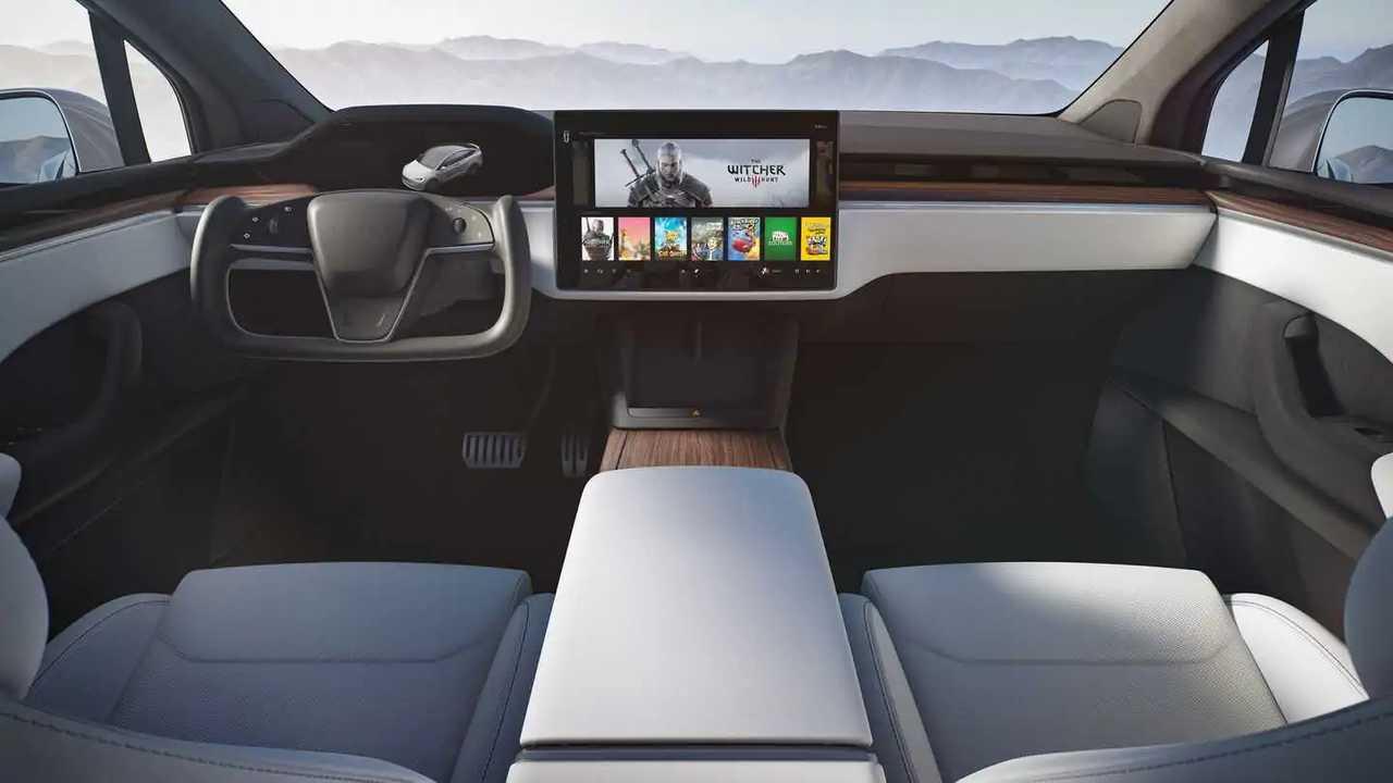 2021 Tesla Model X interior