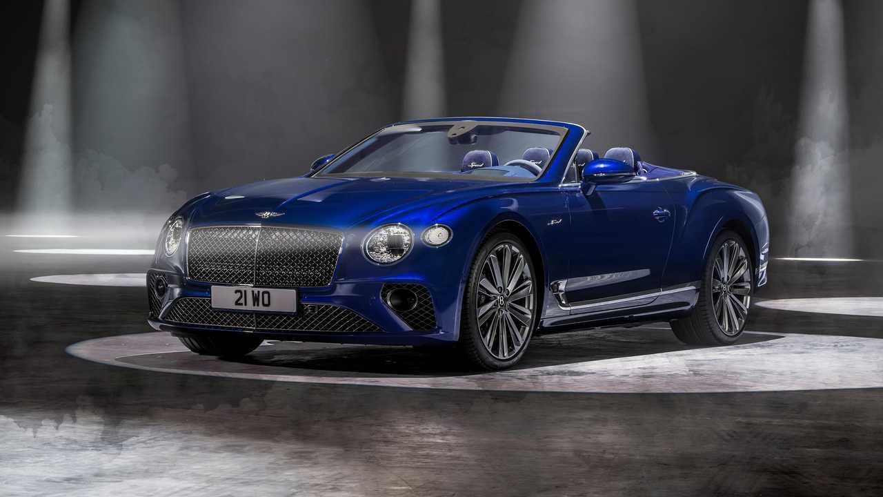 Новый Bentley Continental GT Speed стал кабриолетом
