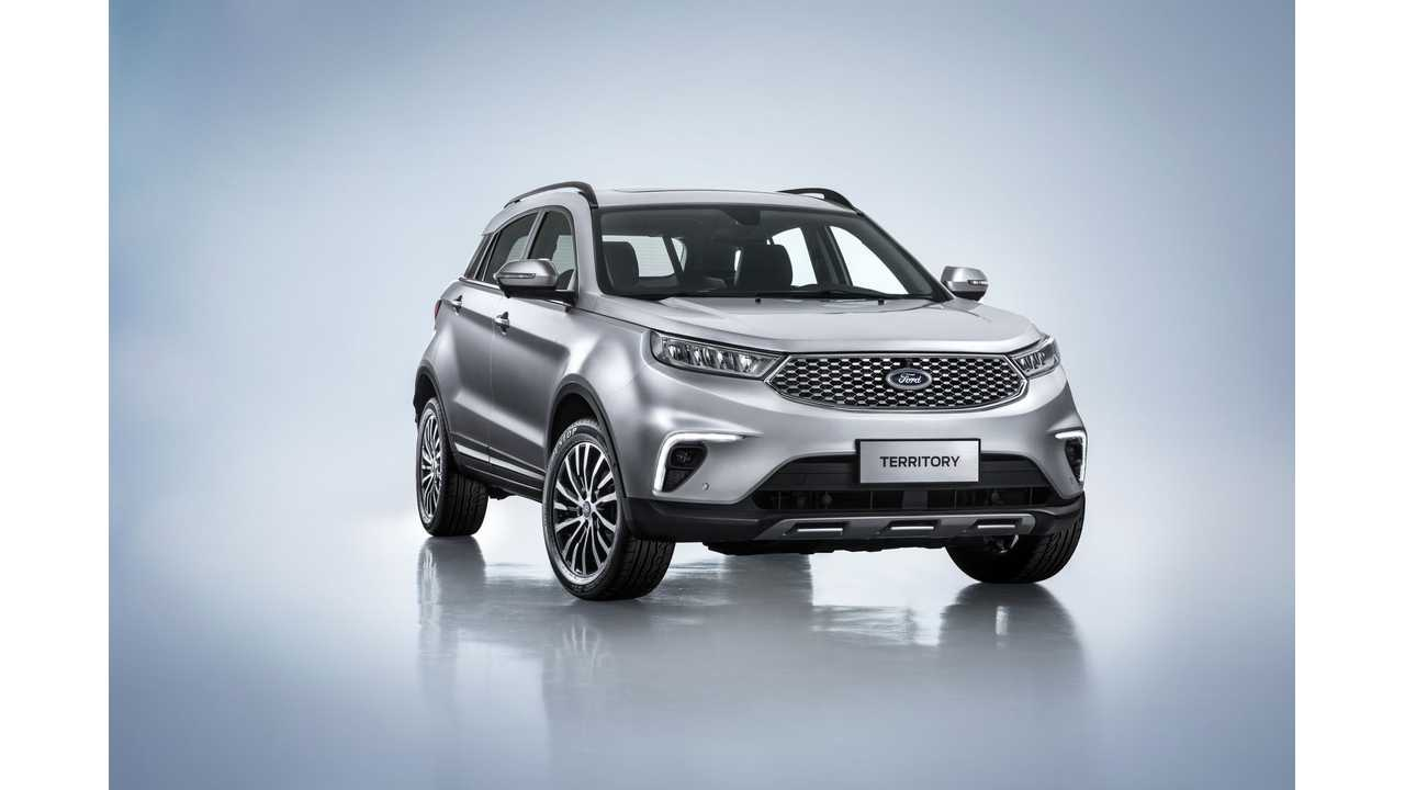 New Ford Territory Will Be Available In PHEV Version In China