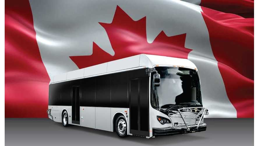 BYD Opens Canadian Bus Assembly Plant In Ontario