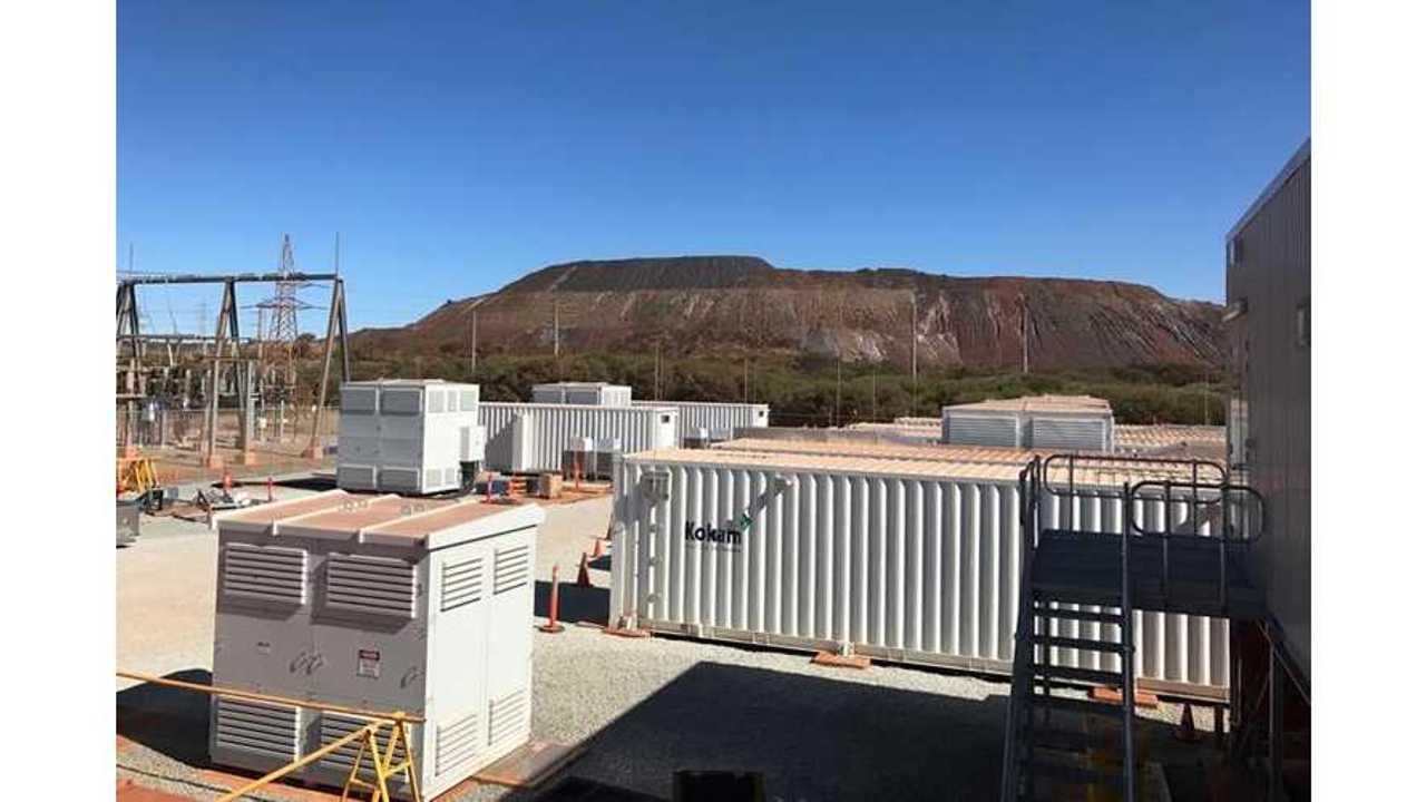 Kokam Charges Up 30 MW Energy Storage System In Australia
