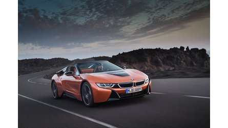 BMW i8 Roadster First Drive Review - Top Down Electric Motoring