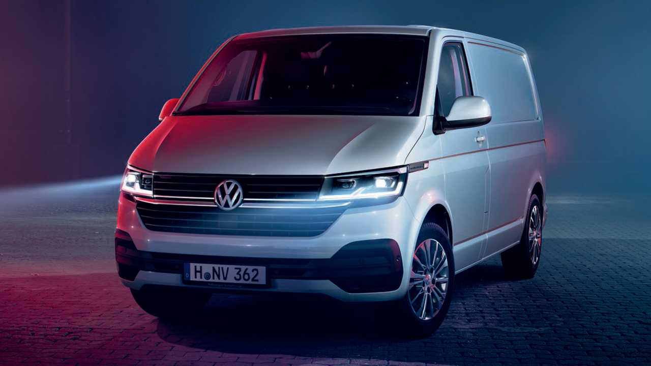 vw transporter t6 1 teased with fresh look lots more tech. Black Bedroom Furniture Sets. Home Design Ideas