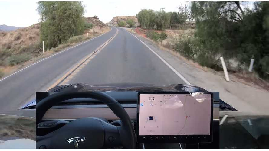 Watch Tesla Model 3 Autopilot Try To Tackle Winding Road At Speed