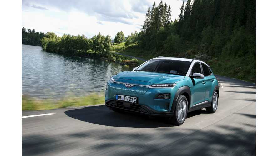 Hyundai Kona Electric Rated By EPA: Range Of 258 Miles
