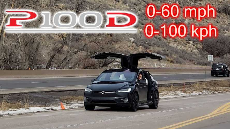 Watch This To See How Quick The Tesla Model X P100D Is